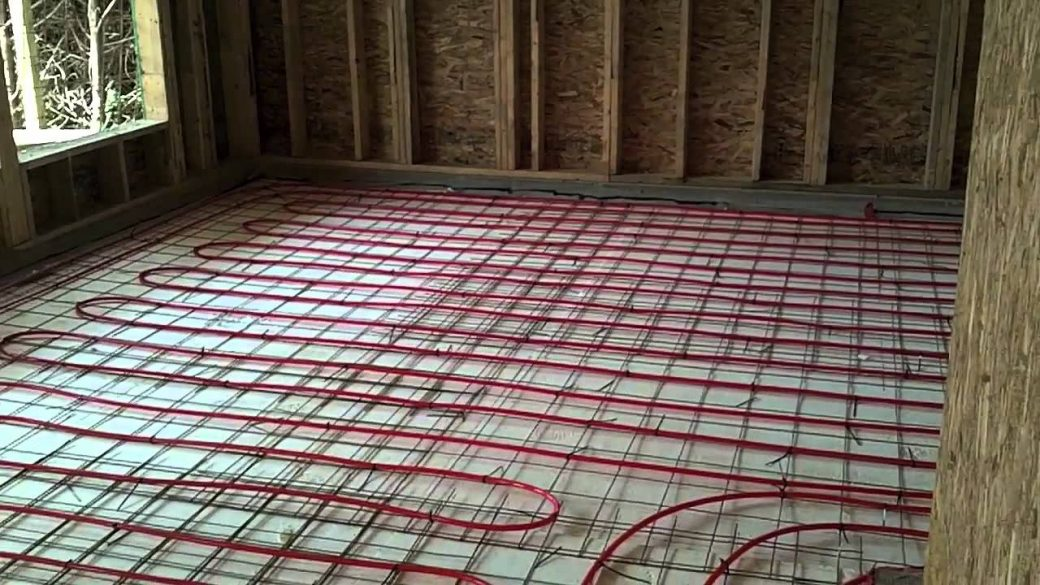 Radiant flooring c w cummings plumbing for Radiant heat wire